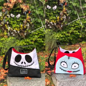 Skellington Reversible Tote - Final Sale!